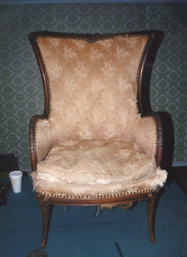 antique chair_before