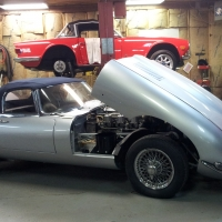 1961 Jaguar XKE Series 1 Roaster_4